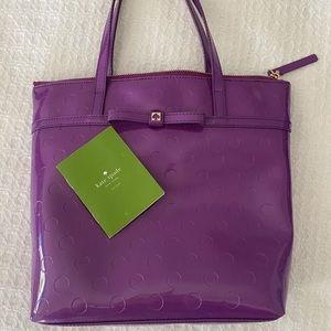 Kate Spade small purple tote